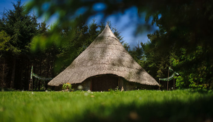 award winning celtic roundhouse accommodation in cornwall